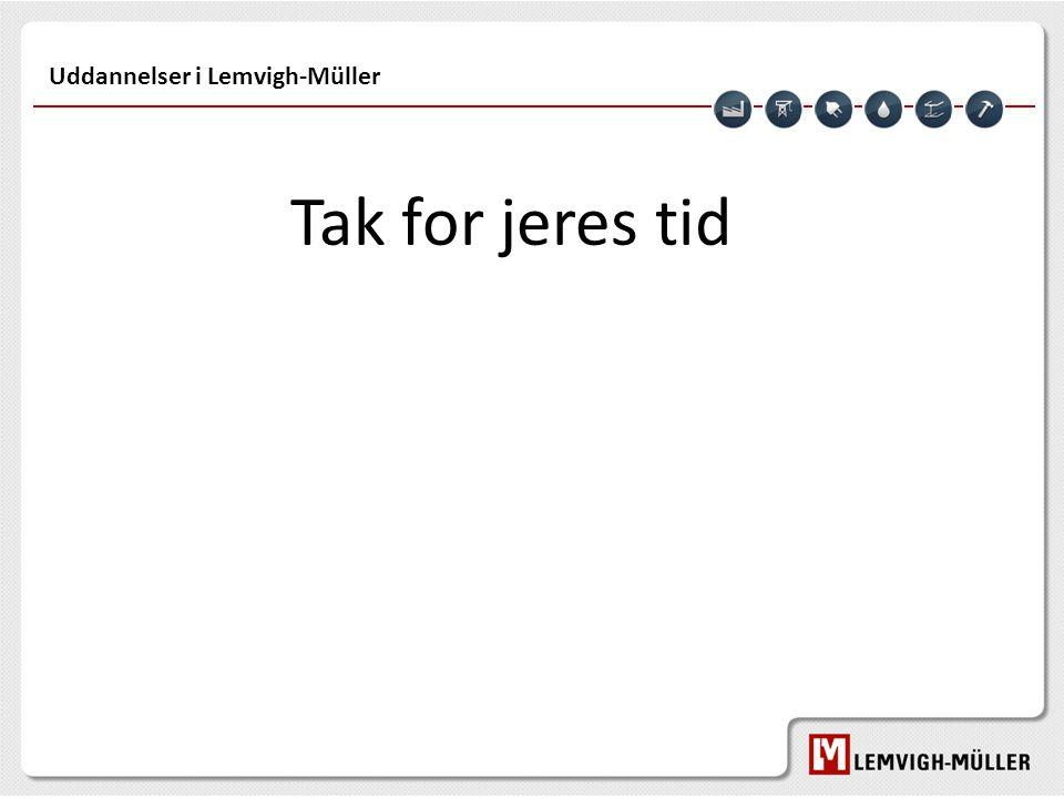 Uddannelser i Lemvigh-Müller