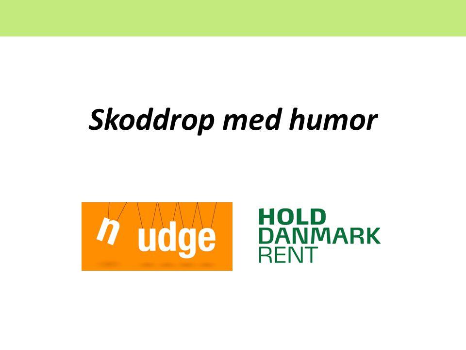 Skoddrop med humor