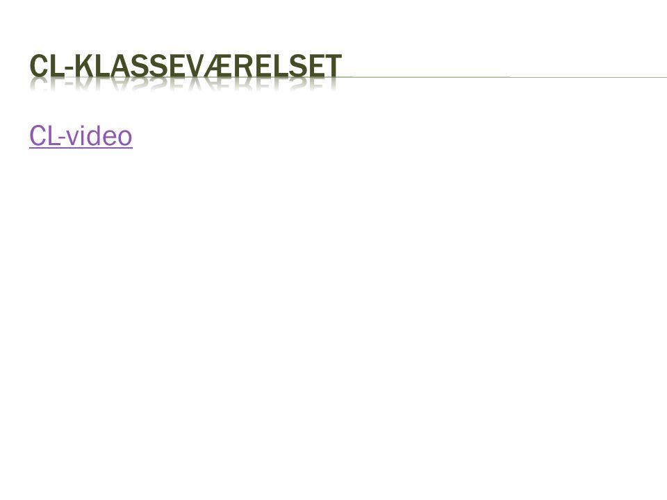 CL-klasseværelset CL-video