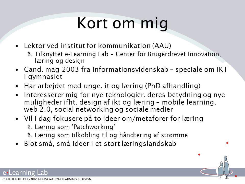 Kort om mig Lektor ved institut for kommunikation (AAU)