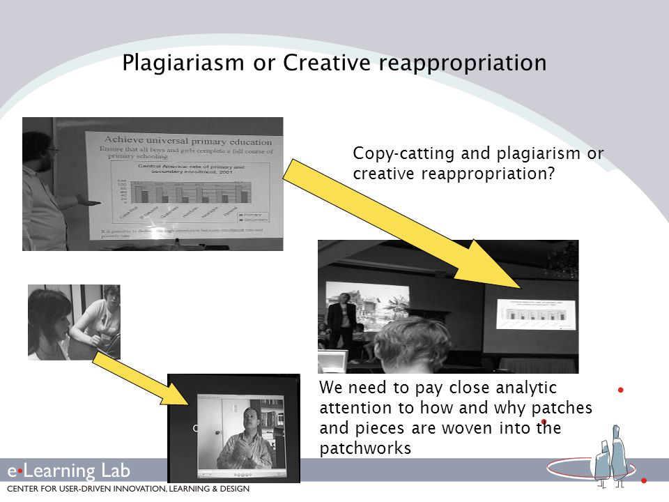Plagiariasm or Creative reappropriation