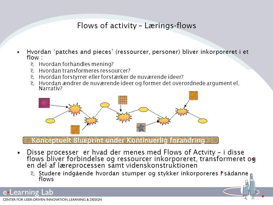 Flows of activity – Lærings-flows