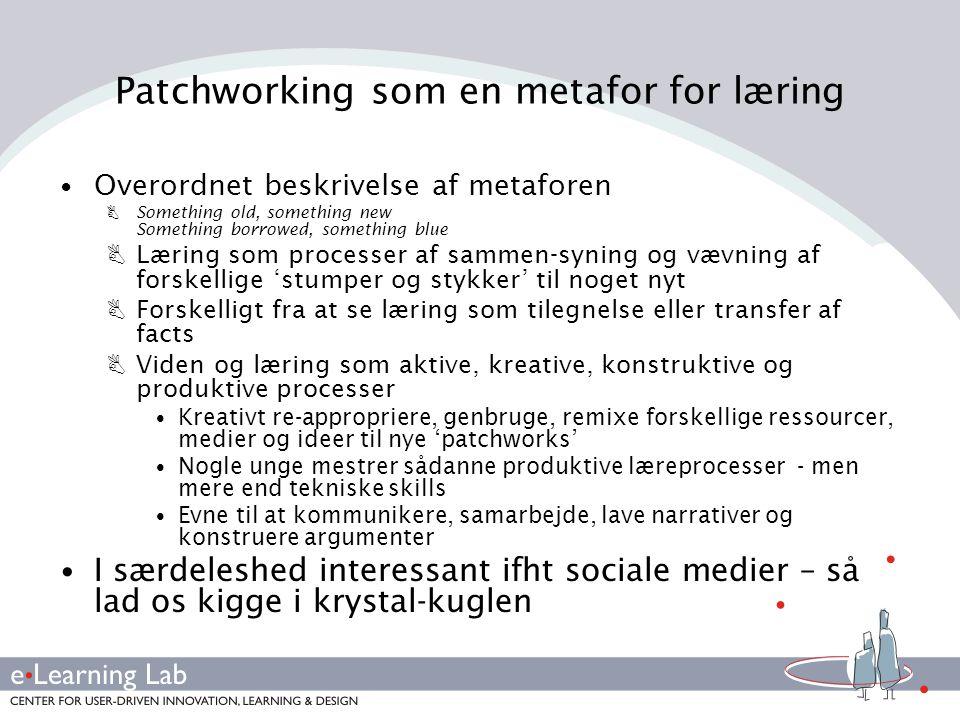 Patchworking som en metafor for læring