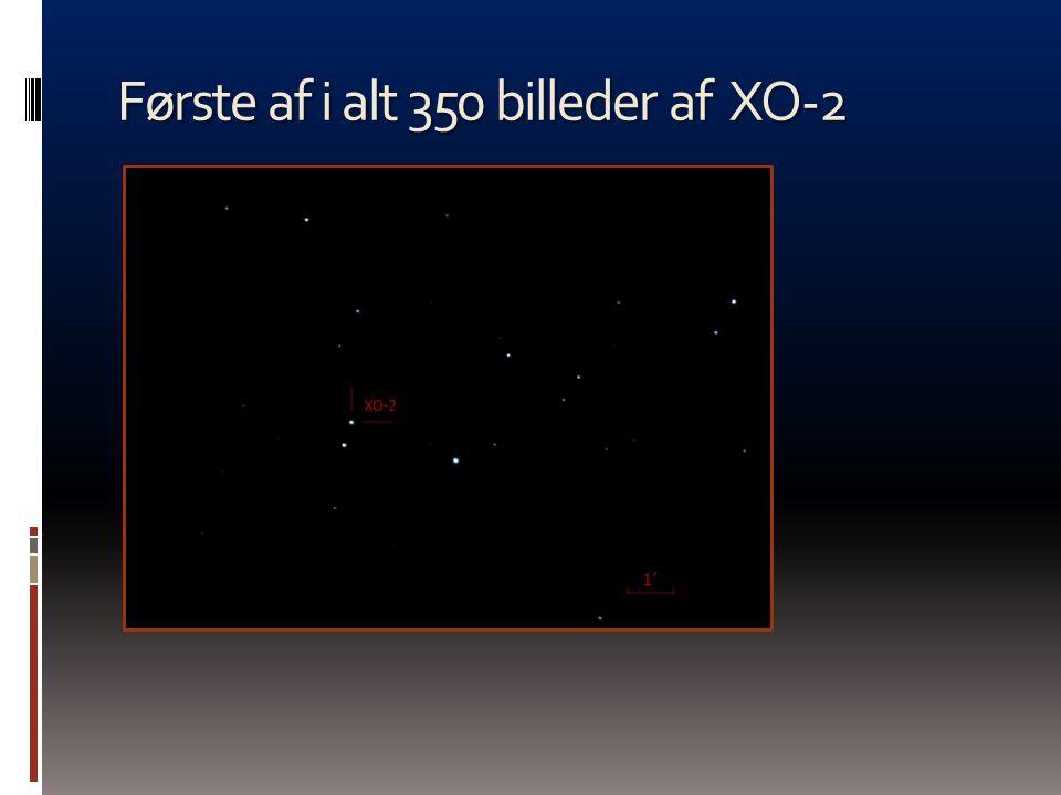 Første af i alt 350 billeder af XO-2