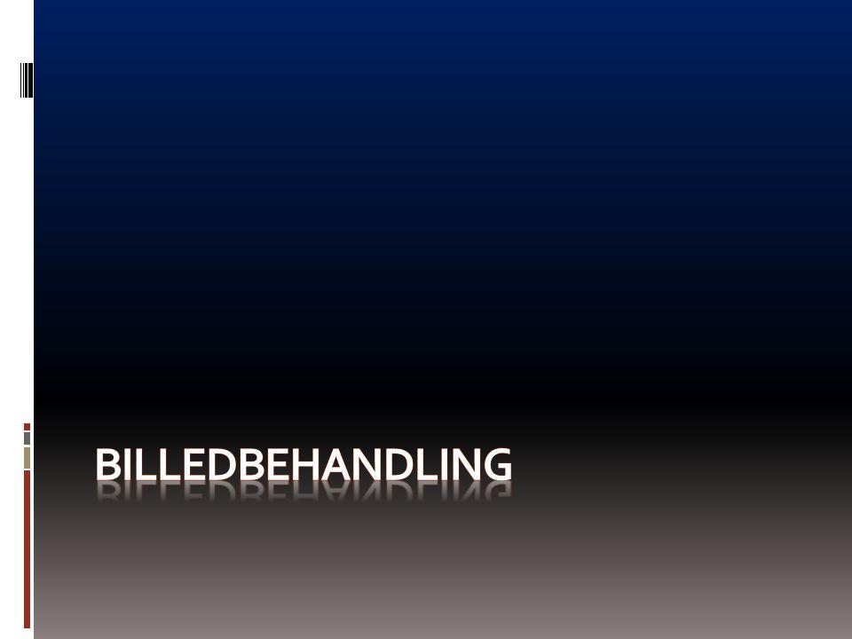 BILLEDBEHANDLING