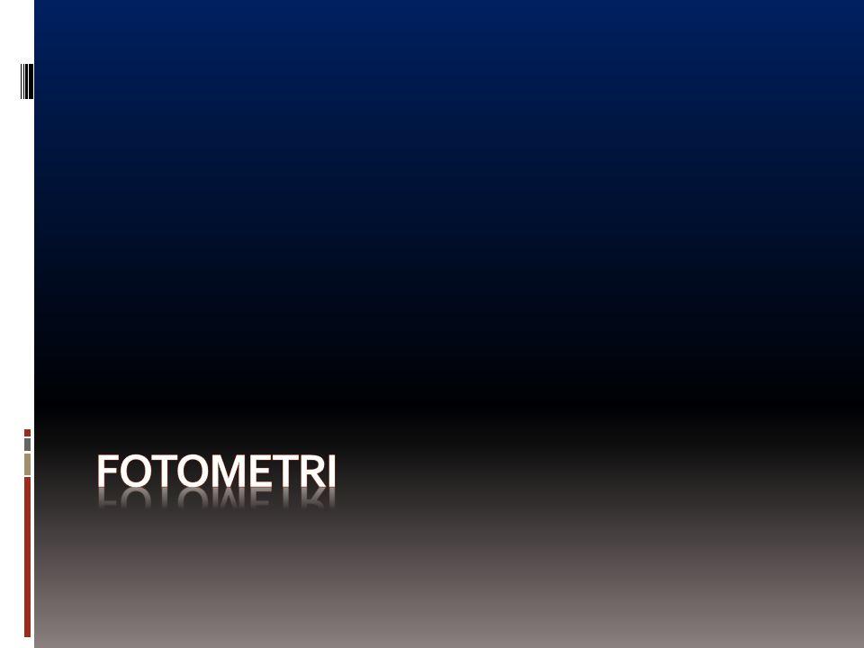 FOTOMETRI