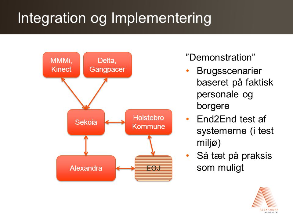 Integration og Implementering