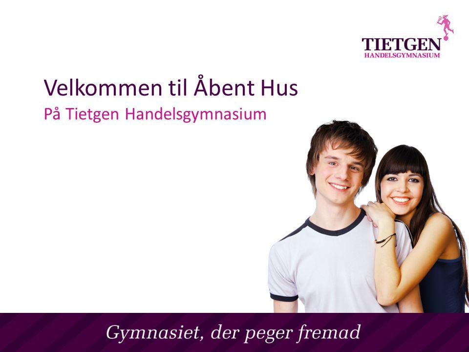 Velkommen til Åbent Hus På Tietgen Handelsgymnasium