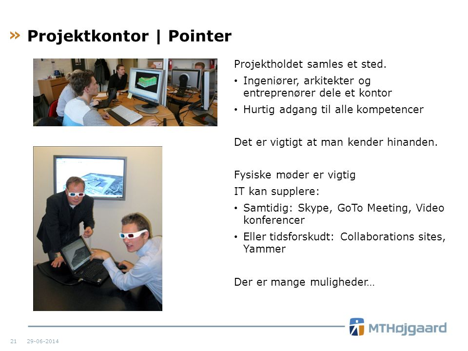 Projektkontor | Pointer