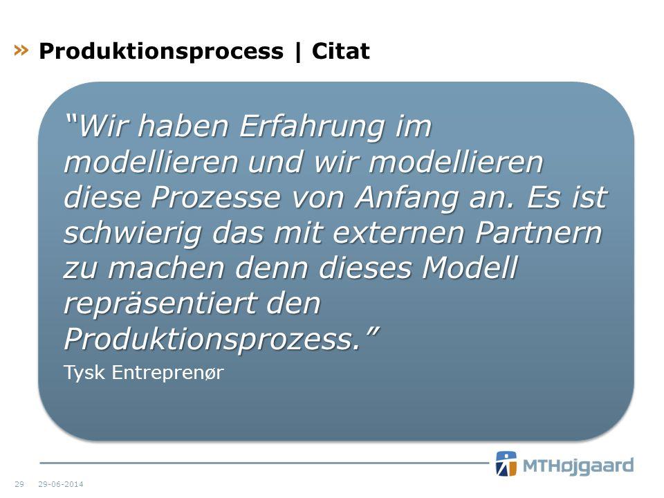 Produktionsprocess | Citat