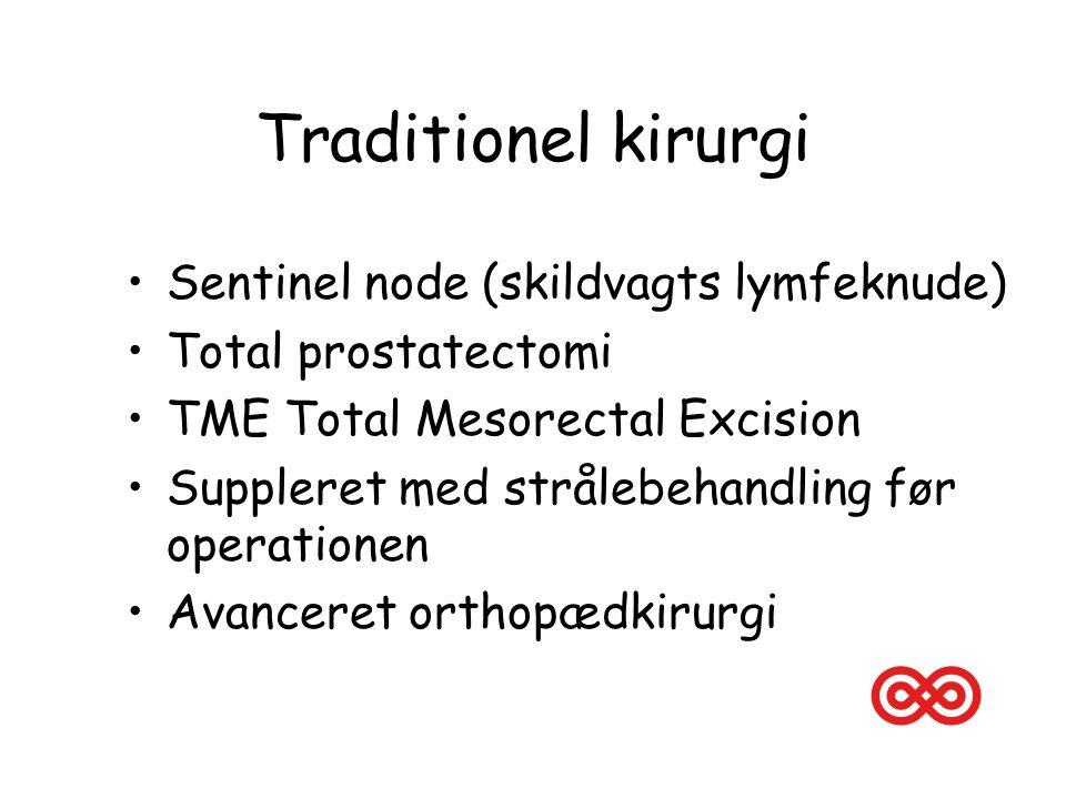 Traditionel kirurgi Sentinel node (skildvagts lymfeknude)