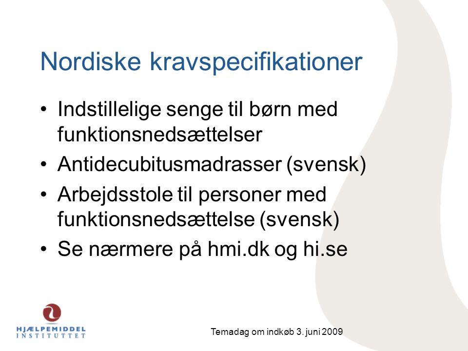 Nordiske kravspecifikationer