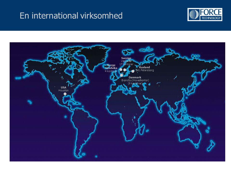 En international virksomhed