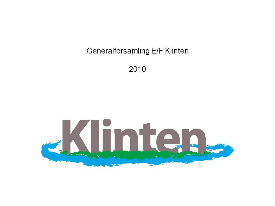 Generalforsamling E/F Klinten 2010
