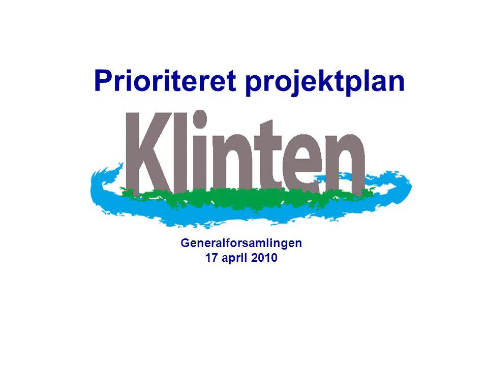 Prioriteret projektplan