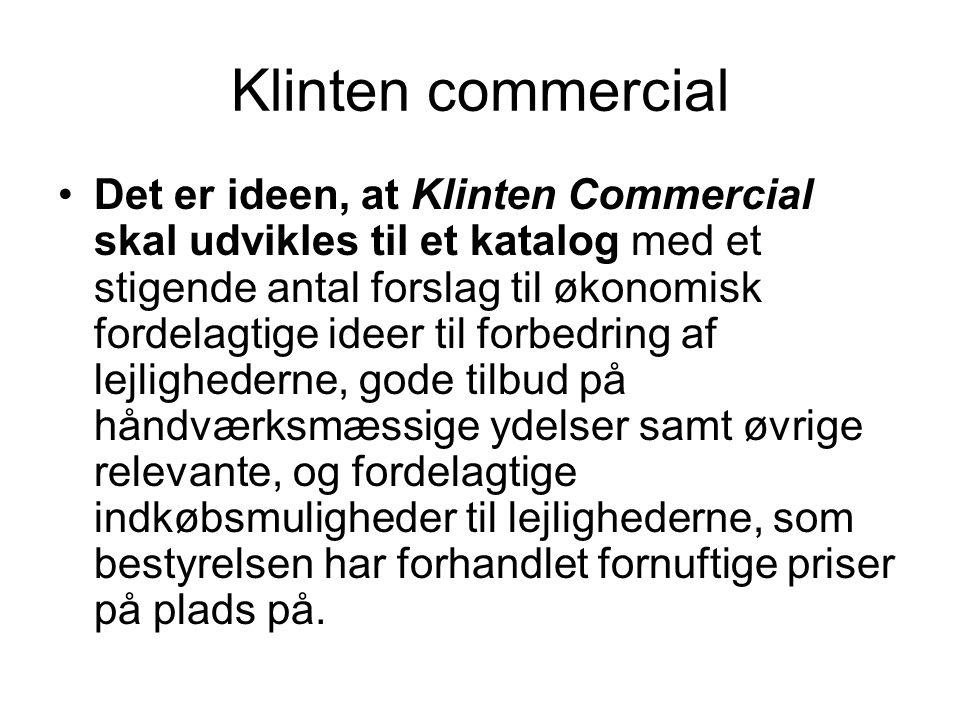 Klinten commercial