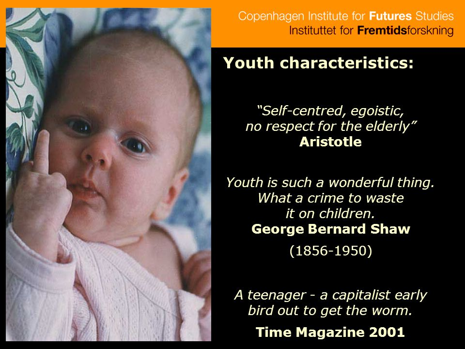 Youth characteristics: