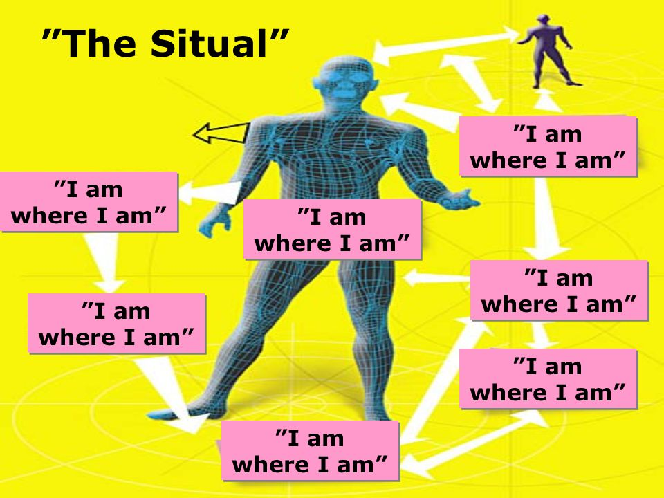 The Situal I am where I am I am where I am I am where I am