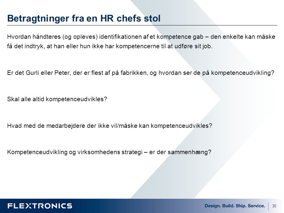 Betragtninger fra en HR chefs stol