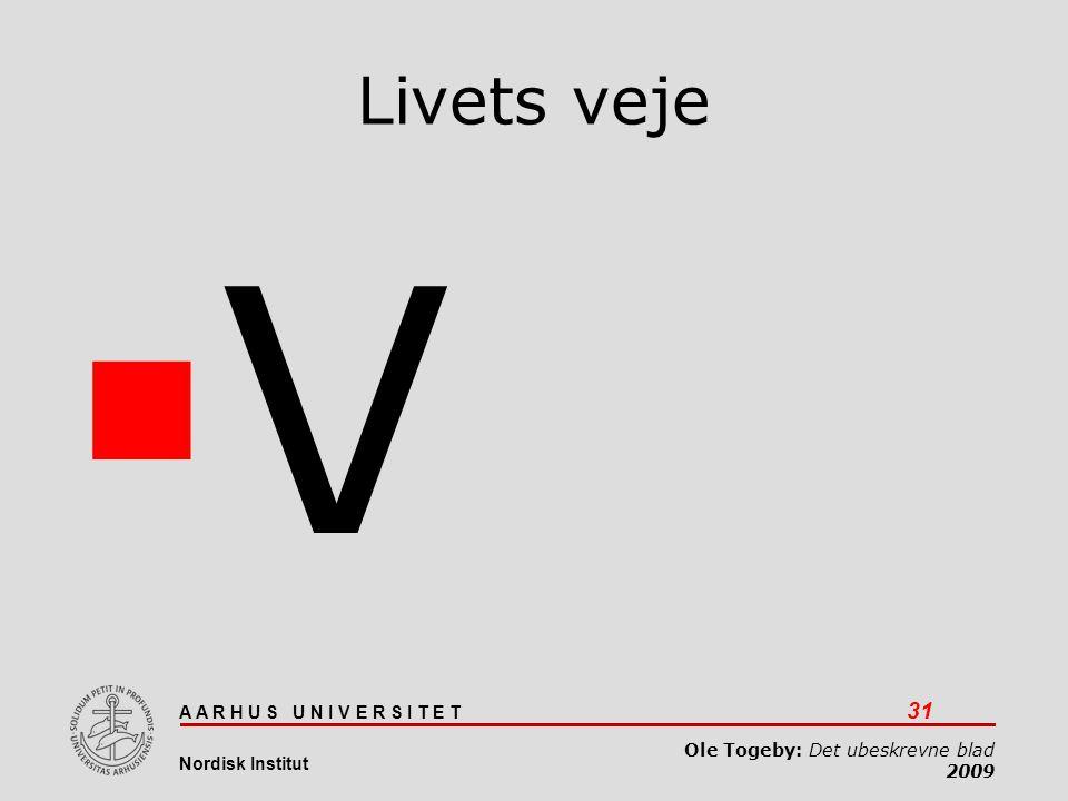 V Livets veje Det ubeskrevne blad 03-04-2017