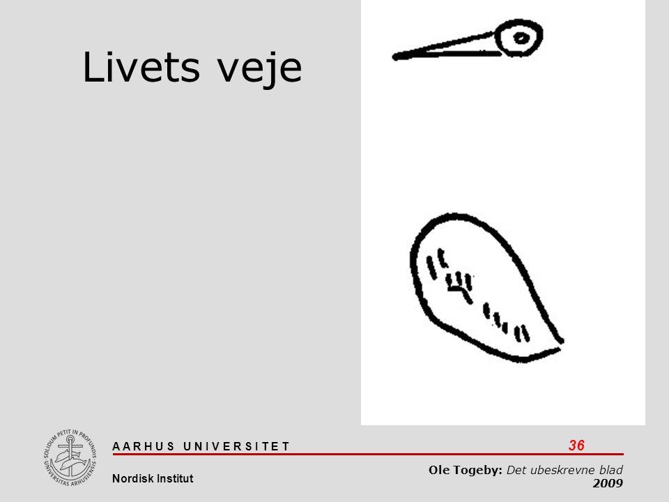 Livets veje Det ubeskrevne blad 03-04-2017