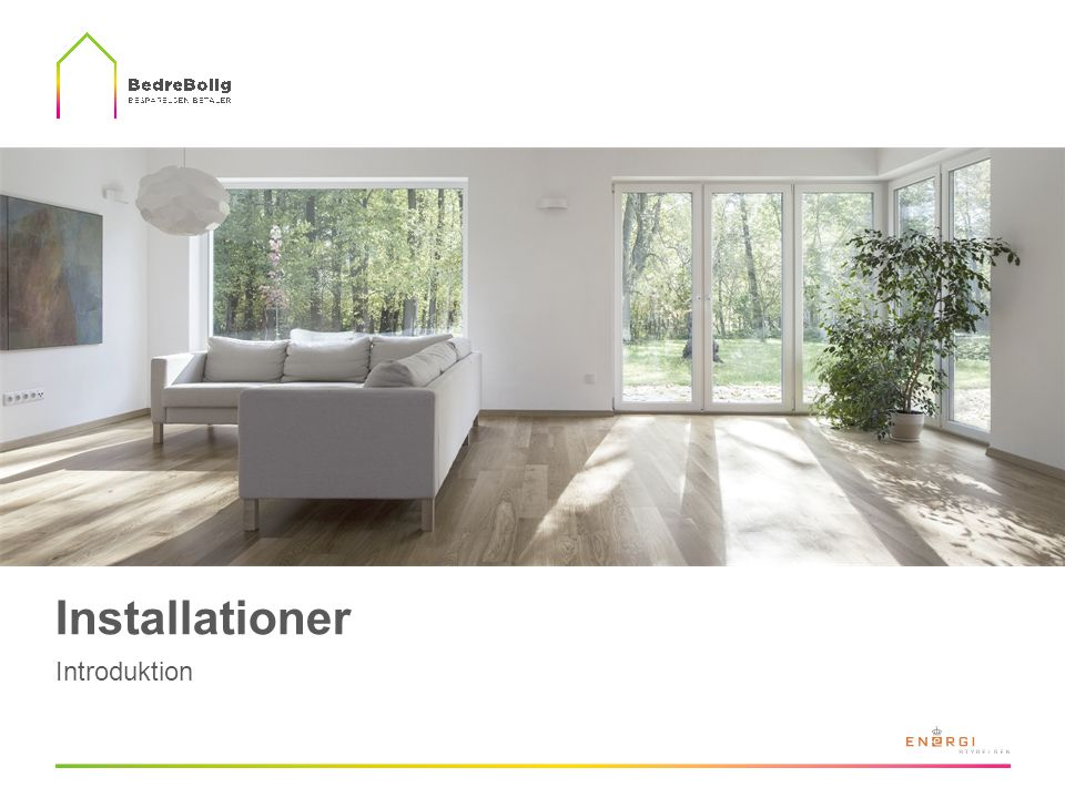 Installationer Introduktion