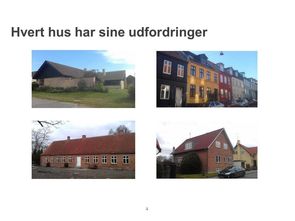 Hvert hus har sine udfordringer