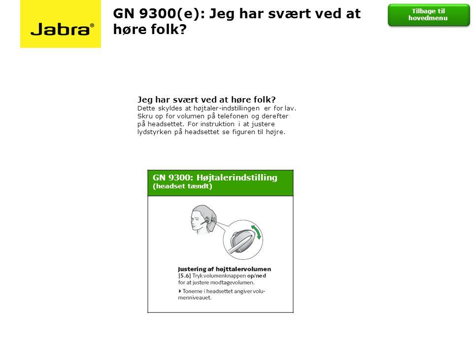 GN 9300(e): Jeg har svært ved at høre folk