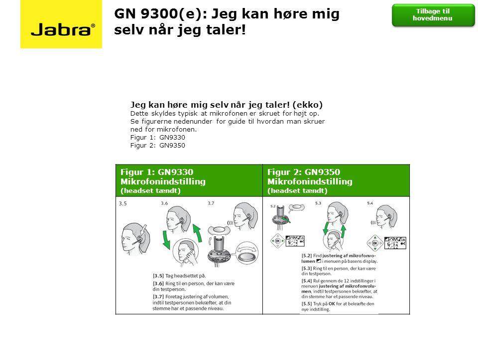 GN 9300(e): Jeg kan høre mig selv når jeg taler!