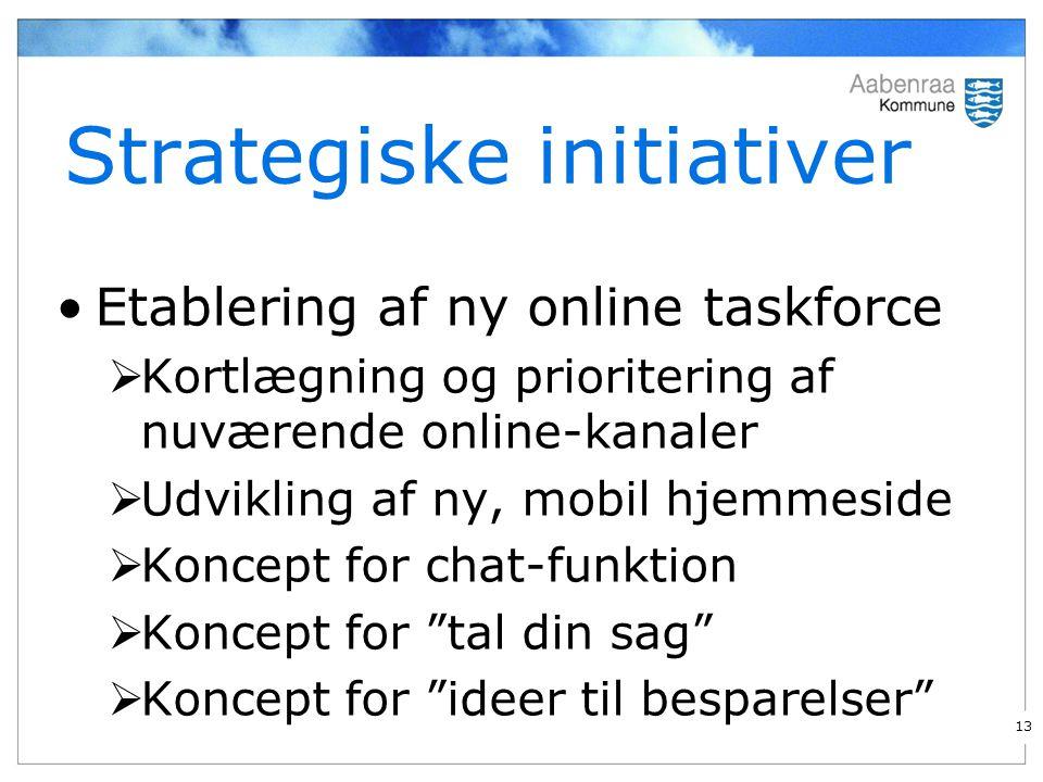 Strategiske initiativer