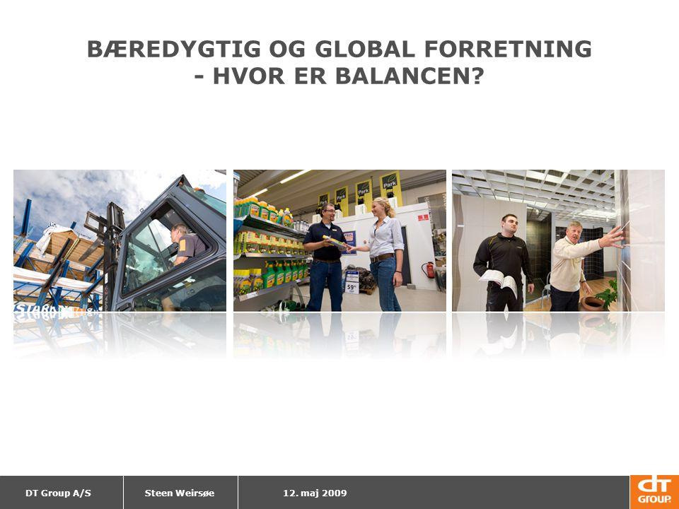 BÆREDYGTIG OG GLOBAL FORRETNING - HVOR ER BALANCEN