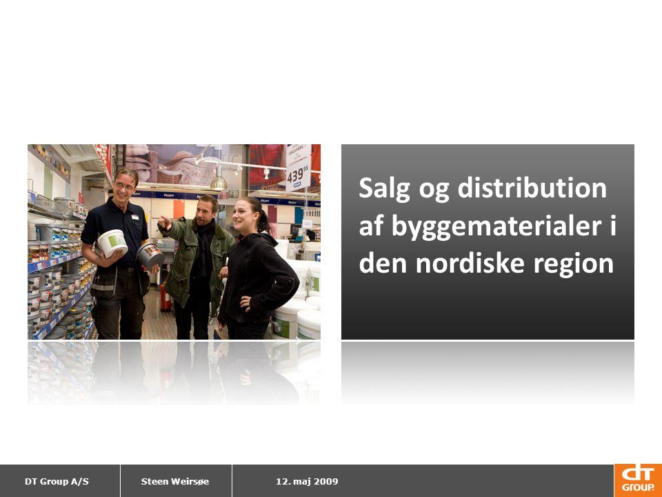 Salg og distribution af byggematerialer i den nordiske region