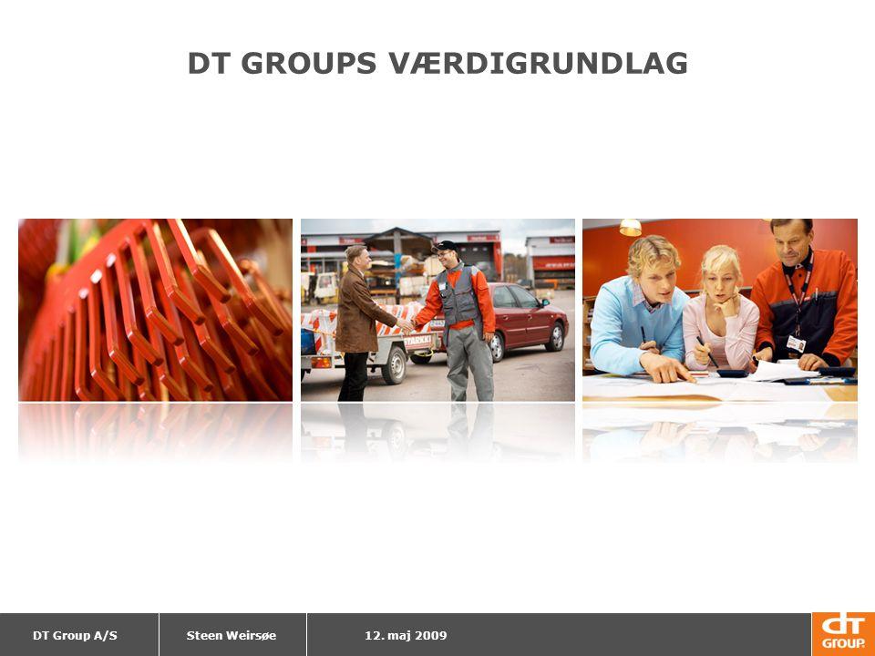 DT GROUPS VÆRDIGRUNDLAG