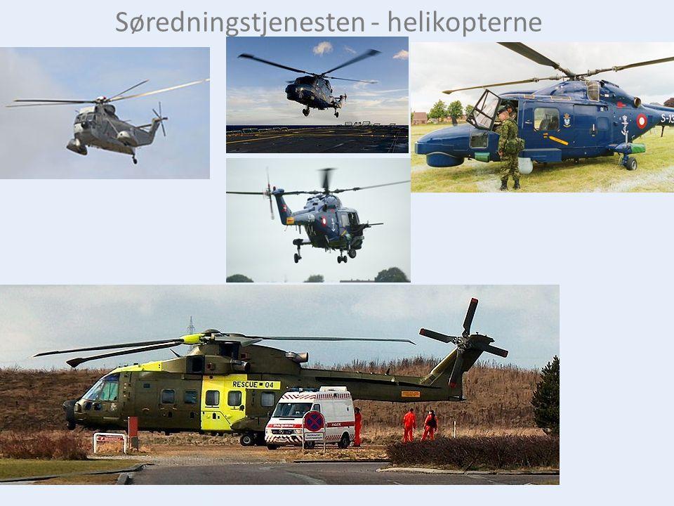 Søredningstjenesten - helikopterne