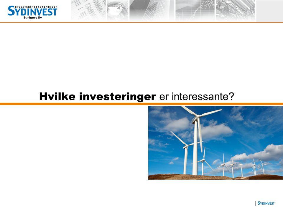 Hvilke investeringer er interessante
