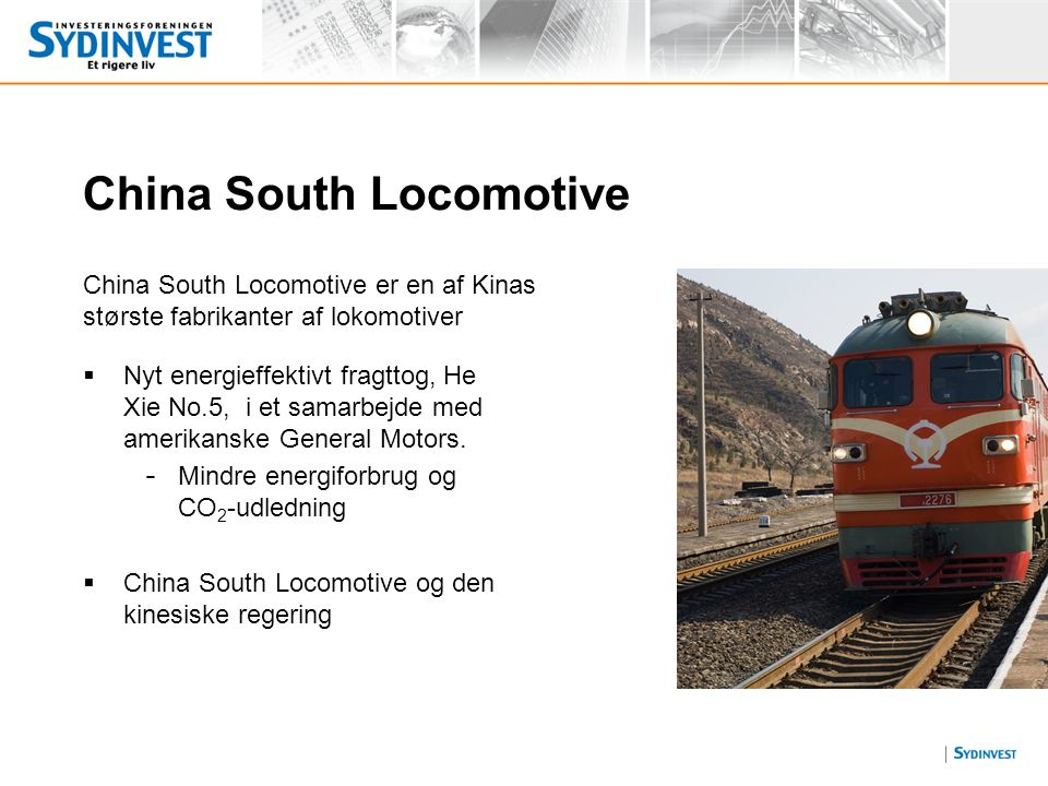 China South Locomotive
