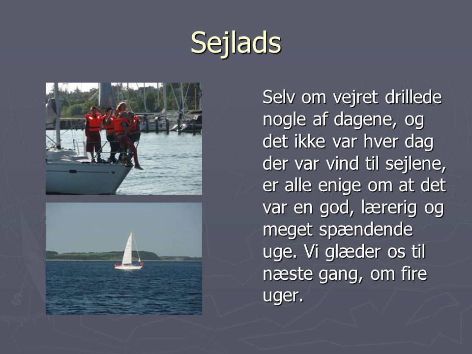 Sejlads