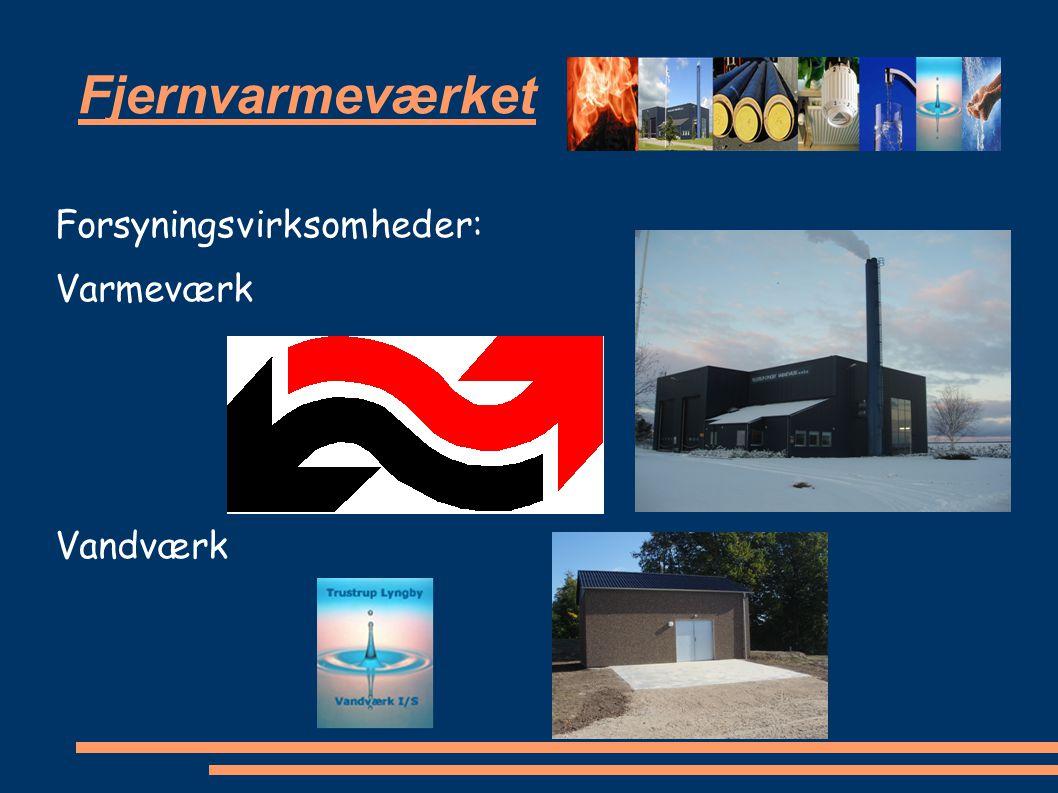 Fjernvarmeværket Forsyningsvirksomheder: Varmeværk Vandværk