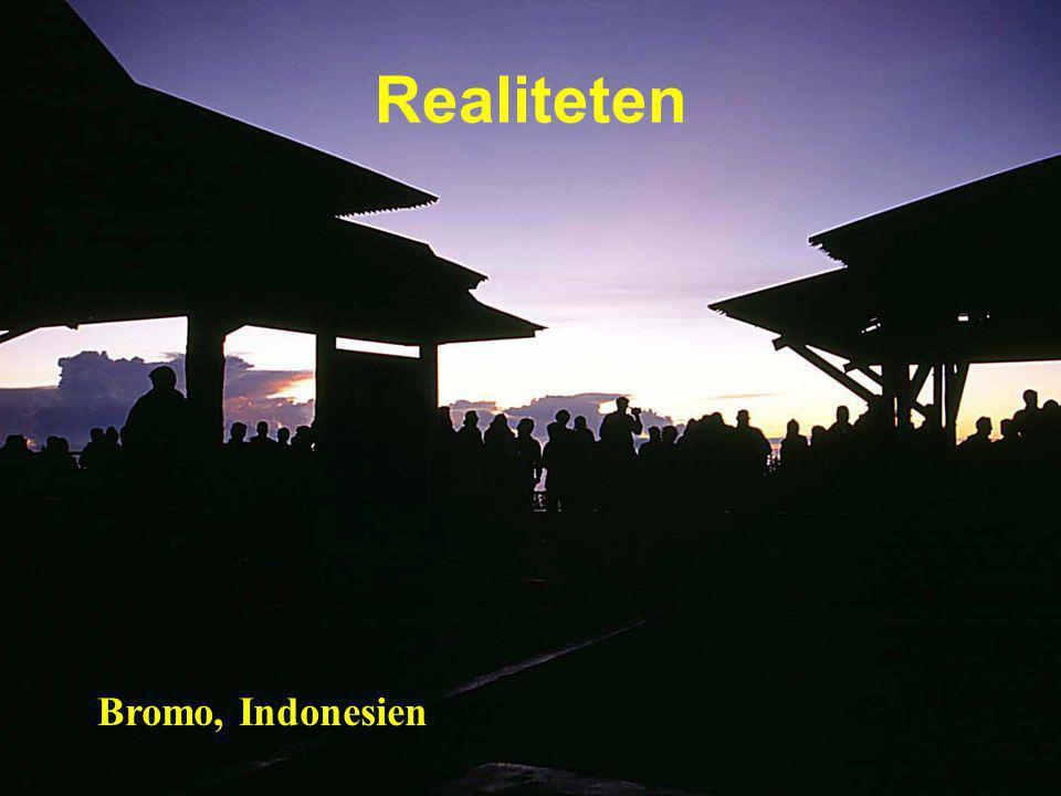 Realiteten Bromo, Indonesien