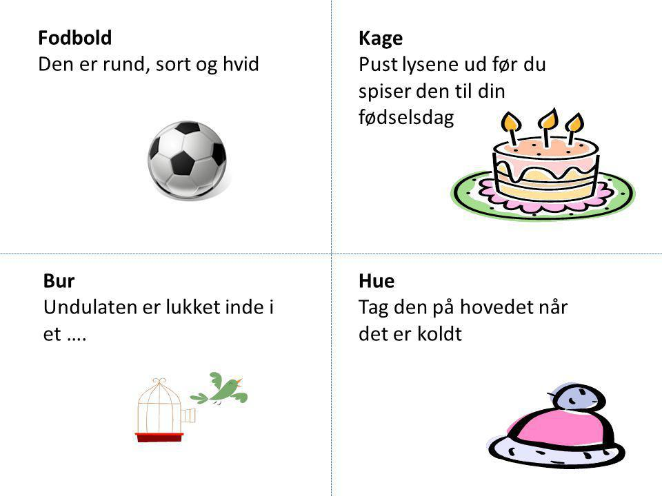 Fodbold Den er rund, sort og hvid. Kage. Pust lysene ud før du spiser den til din fødselsdag. Bur.