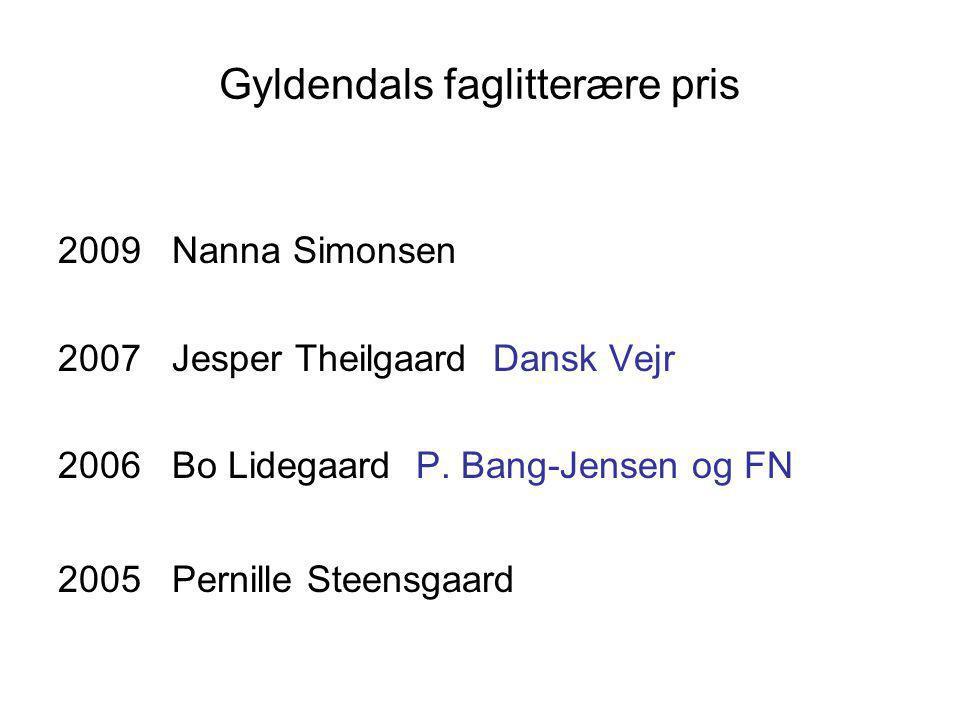 Gyldendals faglitterære pris