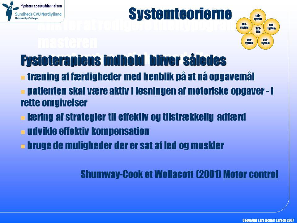 systemteoretiske modeller