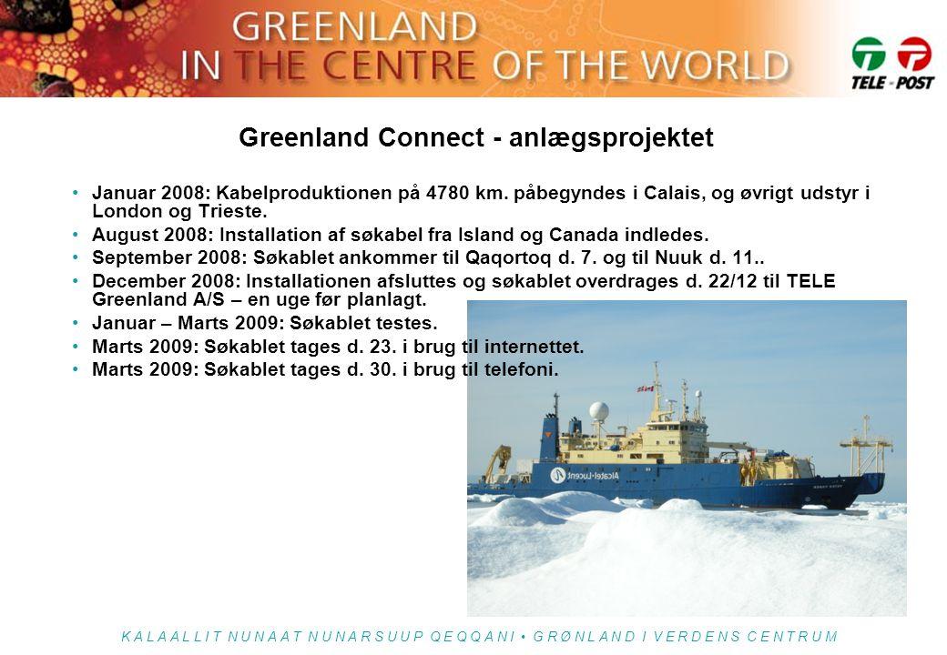 Greenland Connect - anlægsprojektet