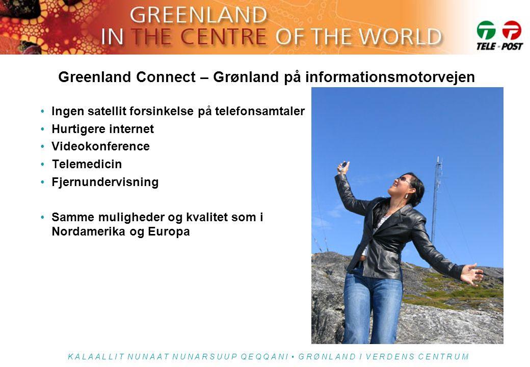 Greenland Connect – Grønland på informationsmotorvejen