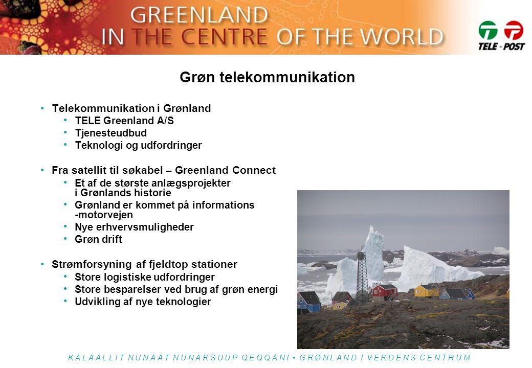 Grøn telekommunikation