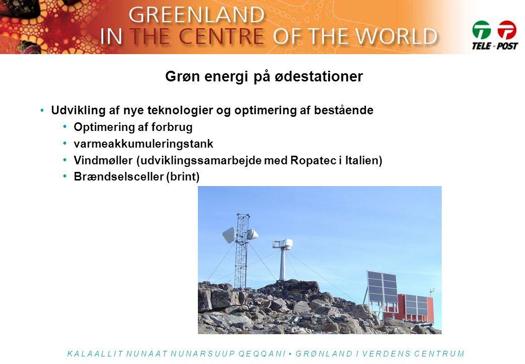 Grøn energi på ødestationer
