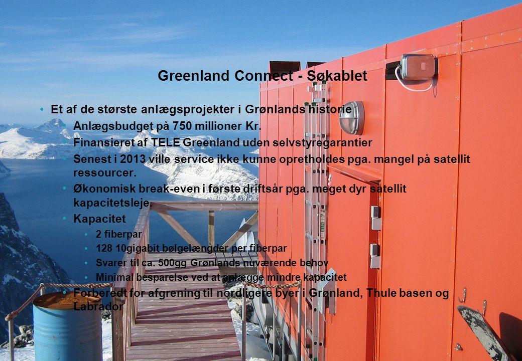 Greenland Connect - Søkablet