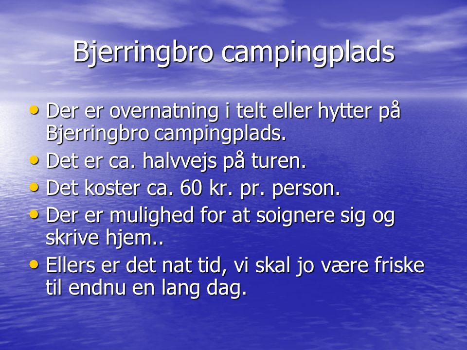 Bjerringbro campingplads