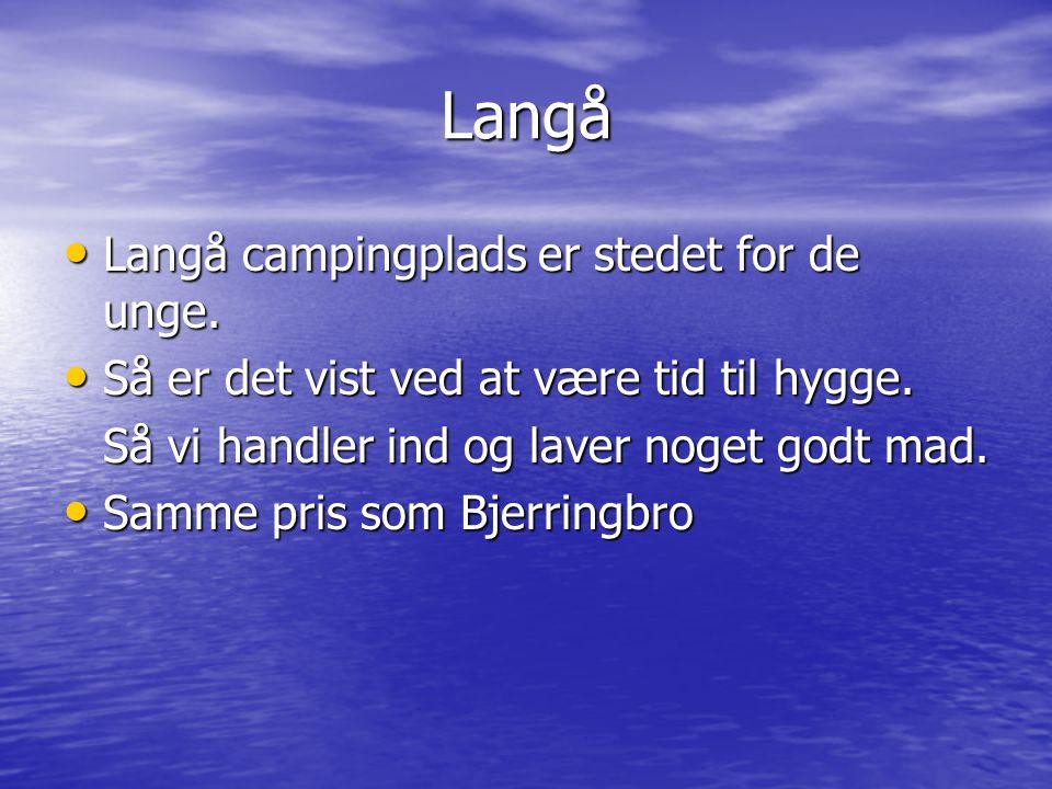 Langå Langå campingplads er stedet for de unge.