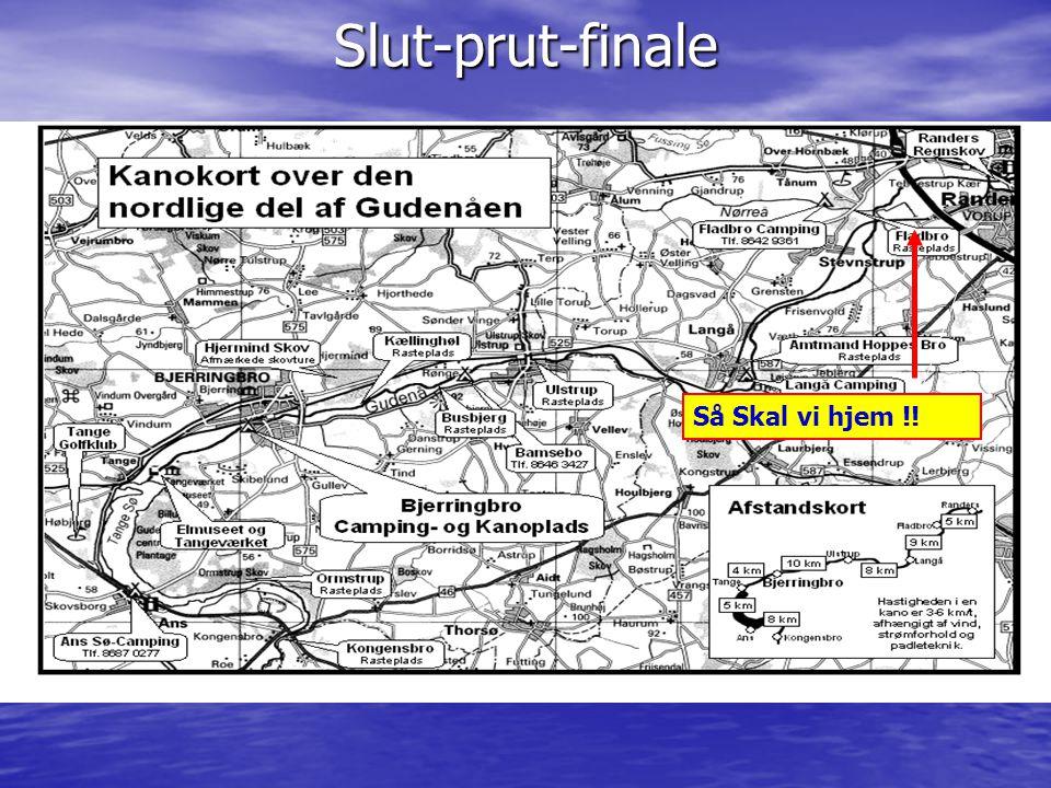 Slut-prut-finale Så Skal vi hjem !!